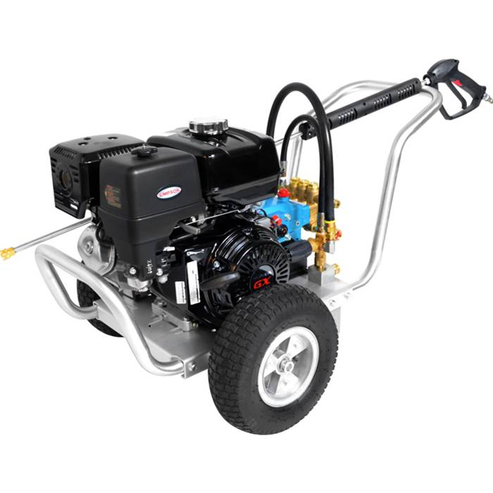 Honda Gx270 Cat Triplex Pump 4 0gpm 4200psi Aluminum 060828